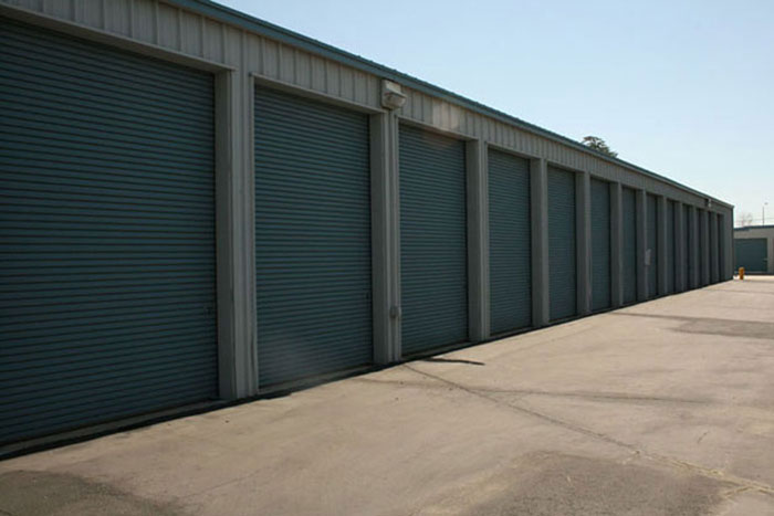 View of 10x35 units. & Climate Controlled Storage Lodi CA