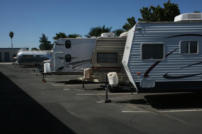 25 Foot RV/Boat Parking.